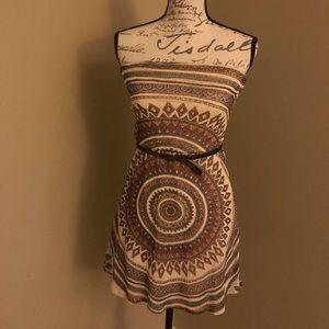 Aztec print dress NWOT